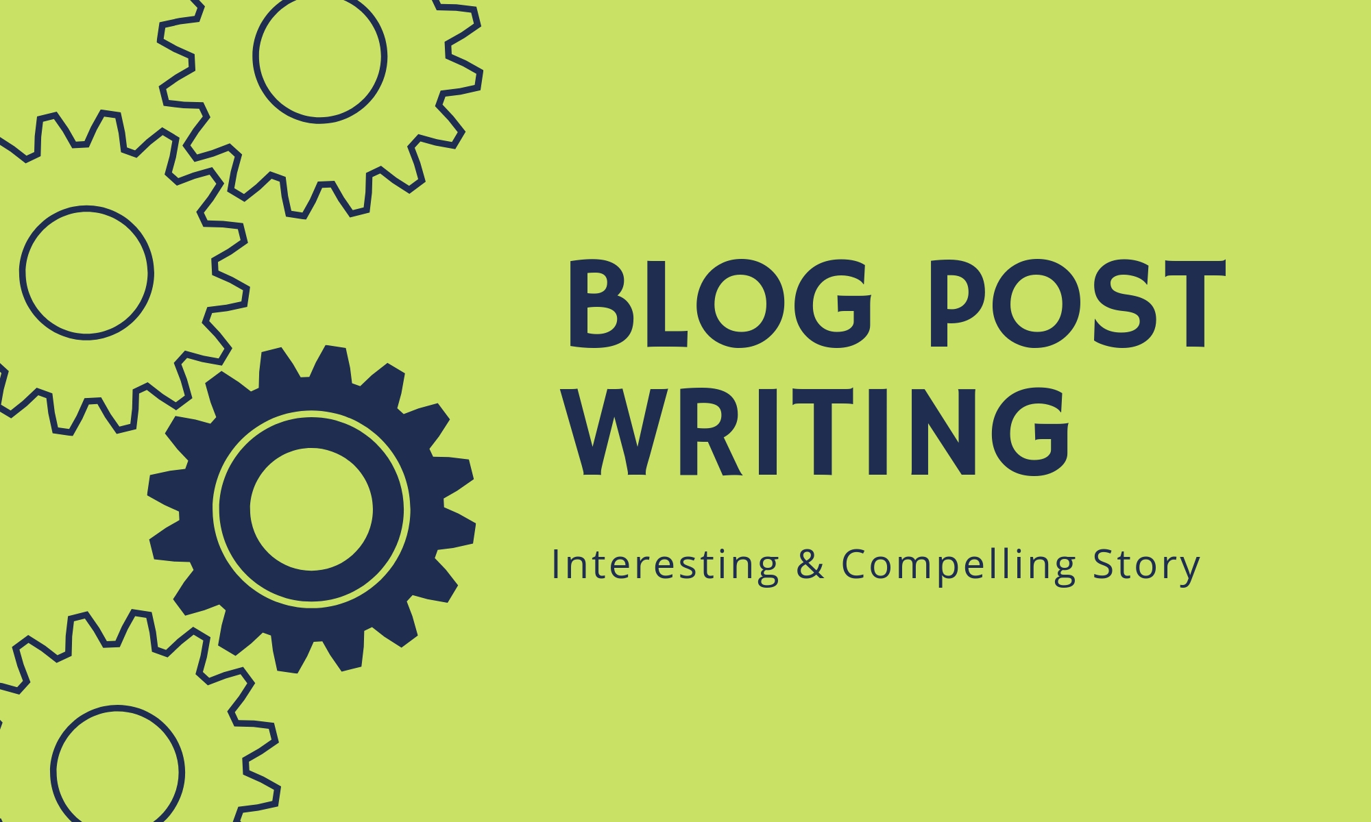 Blog Post Writing Service