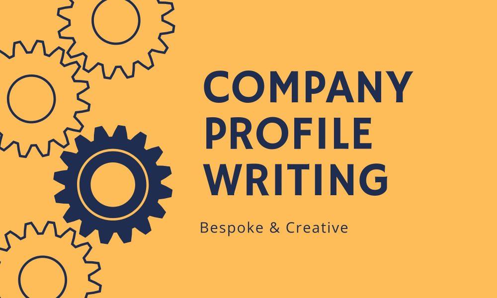 Company Profile Writing Service