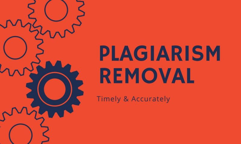 Plagiarism Removal Service