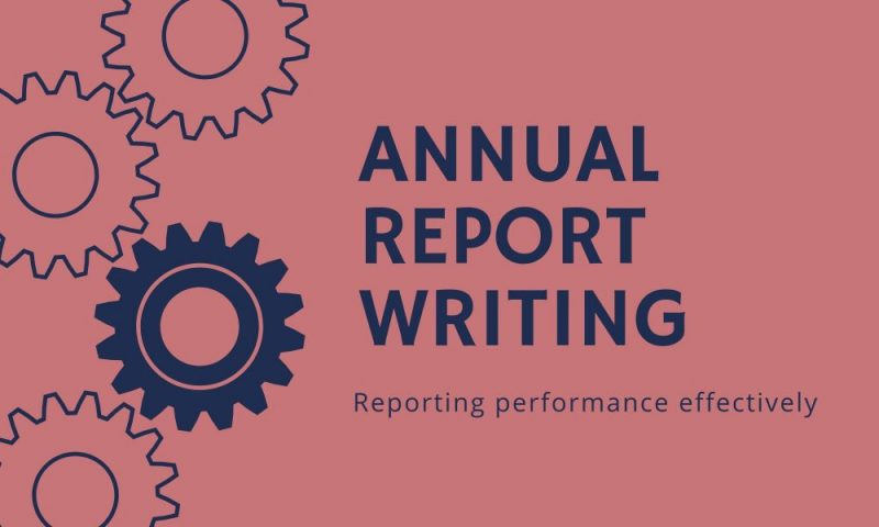 Annual Report Writing Service